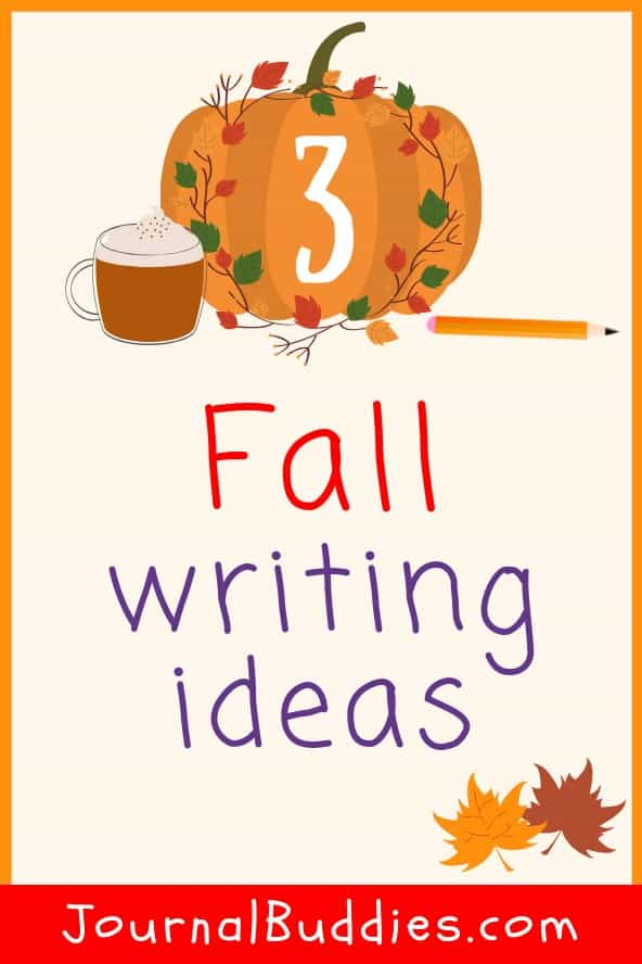 Take your writing outside with one or all of these exciting journal topics and explore the wonders of the change of seasons!