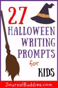 Use these Halloween writing ideas as story starters or as journal writing prompts with your students!