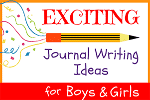 51 Exciting Journal Writing Ideas for Girls & Boys