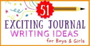 Journal Ideas for Girls and Boys