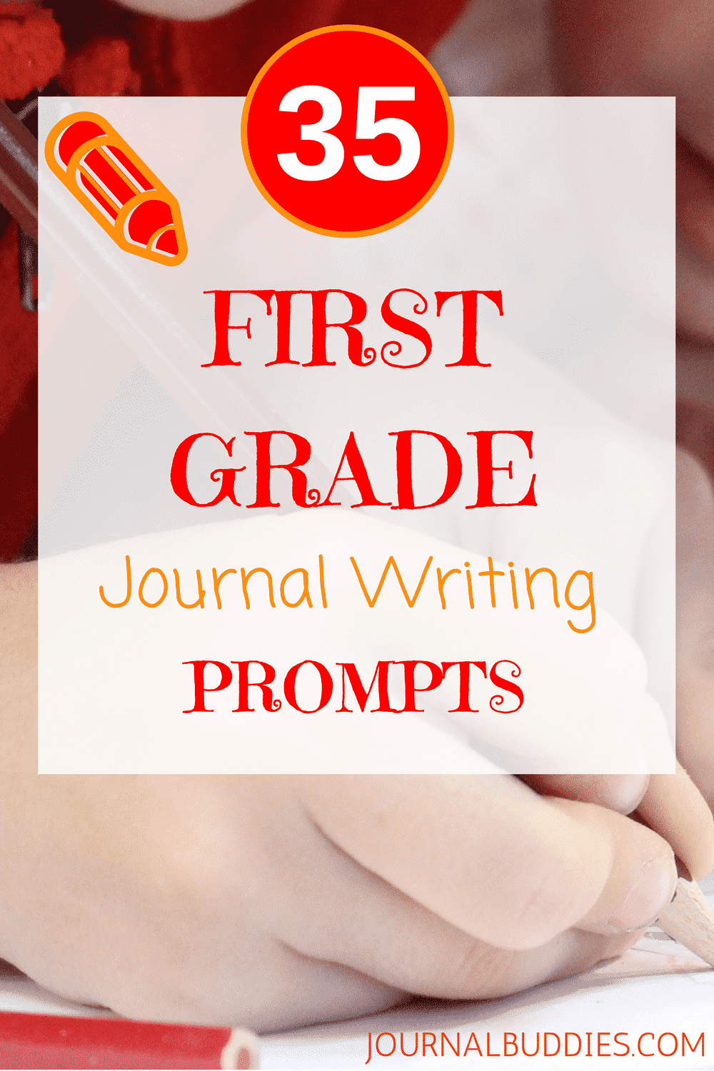 First Grade Journal Writing Prompts