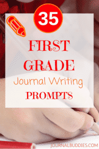 First Grade Journal Writing Prompts for Students