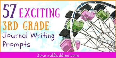Journal Writing Prompts for 3rd Grade Writers