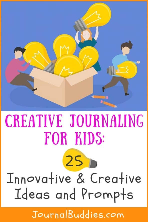 Kids Creative Journal Ideas and Prompts