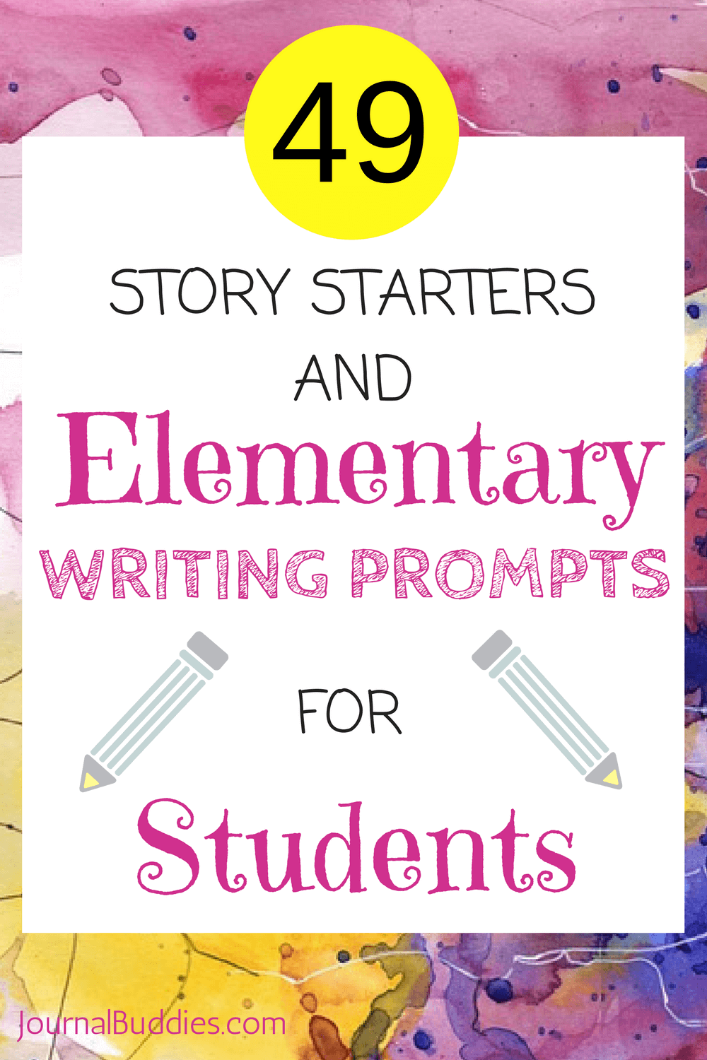 Journal Prompts, Creative Writing Ideas, Story Starters, and more ...