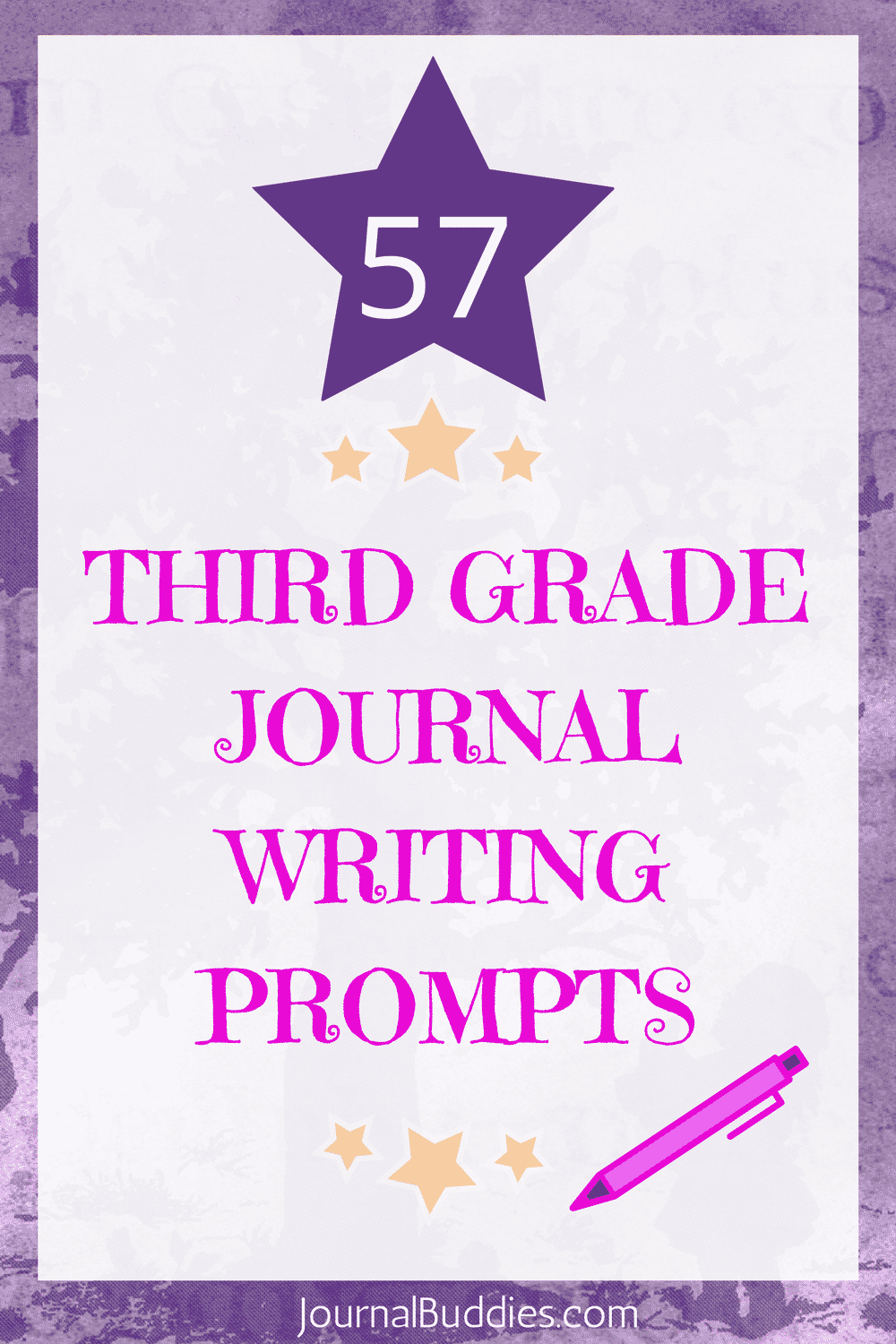 Third Grade Journal Writing Prompts