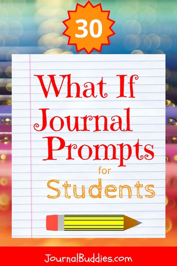 """These """"What if"""" statements are fun for kids because they allow them to imagine different scenarios and transcribe them in their journals. It encourages them to think creatively and to get out of their comfort zone while writing. They are useful for elementary school journals as well as middle and high school journals."""
