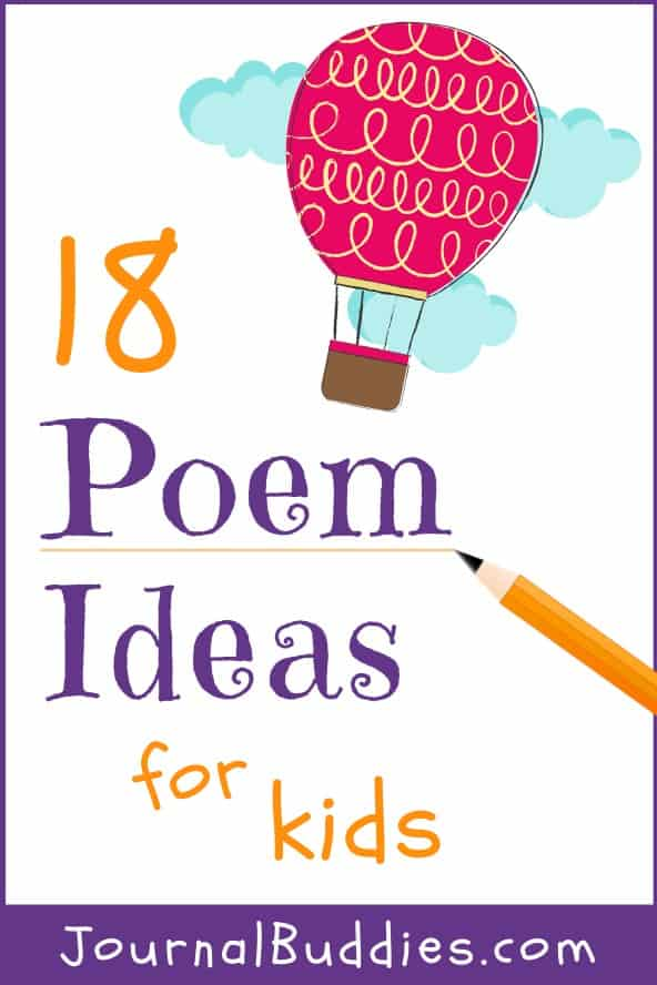 Poetry Writing Ideas for Students