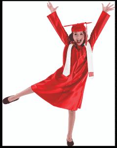 Elementary Girl Graduate