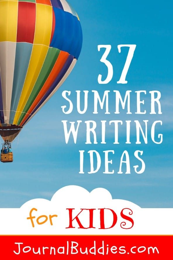 Summer is here and it's a great time of year for kids to explore new activities! Summer writing is one such activity.