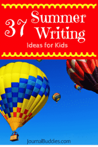 Summer Writing for Kids
