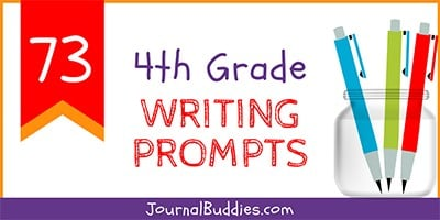 Writing Ideas Prompts for 4th Graders
