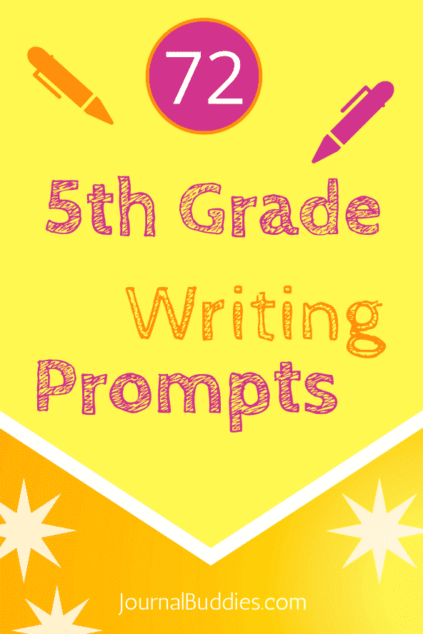 No matter what their individual interests may be, these 5th-grade writing prompts are sure to be a positive addition to the day for every student!