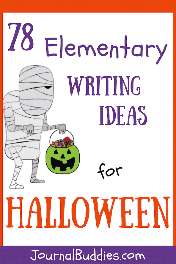 Halloween is a perfect time of year to engage the imaginations of kids and encourage them to get creative with their elementary writing practice.