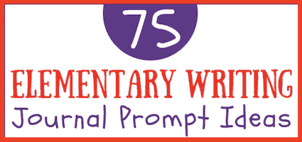 Elementary Writing Prompt Ideas for Kids