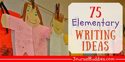 Elementary Journal Writing Ideas