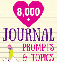 Journal Prompts, Creative Writing Ideas, Story Starters, and more…