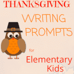 Thanksgiving Prompts for Elementary Kids