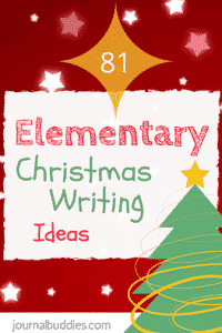 Elementary Christmas Writing Ideas for Students