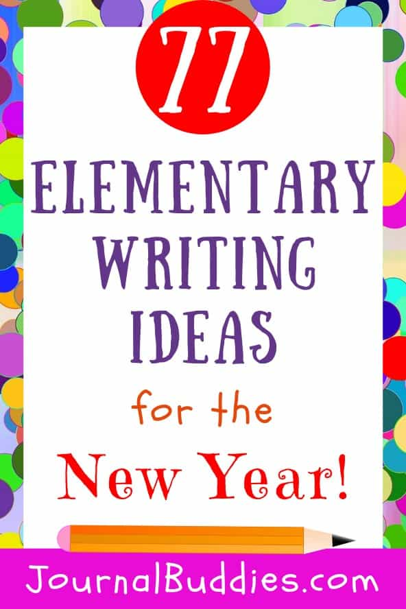 These elementary journal prompt ideas help kids think about their greatest successes, favorite memories, and lessons learned throughout the past year!