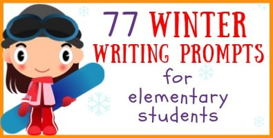77 Elementary Winter Writing Prompts