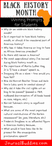 Black history essay topics