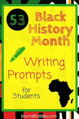 Journal Topics Black History Month
