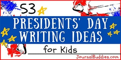 Kids Writing Ideas for Presidents' Day