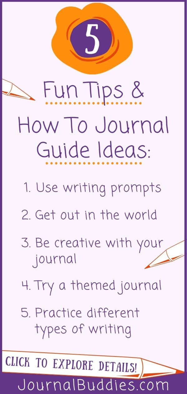 Ideas for Beginning Journaling