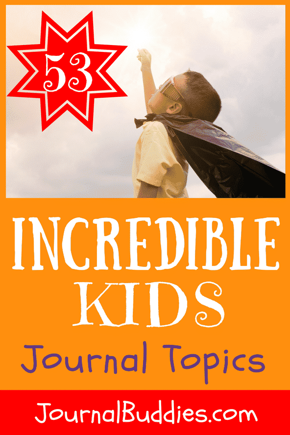 With these journal prompts and fabulous journal topics created in honor of Absolutely Incredible Kid Day, you can encourage your students to reflect on the qualities that make them absolutely incredible.