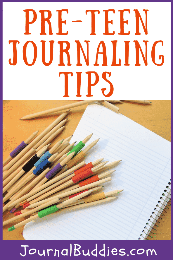 Preteen journaling can become a great tool for kids of this age with problems and issues they may not want to talk to other adults about.