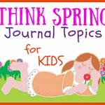 Spring Journal Writing Ideas