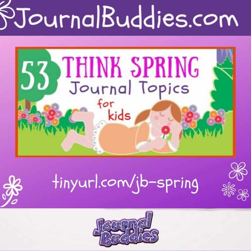 Spring is a time for rebirth and fresh starts. Renew your students' interest in journal prompts with these great springtime-themed journal topics. #springtime #hellospring #spring