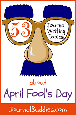 It's no joke – students can benefit immensely from daily journal writing, regardless of the journal topics they use to get inspired by. With this list of new journal prompts, students can reminisce about their favorite April Fool's jokes and think about ideas for their latest pranks.