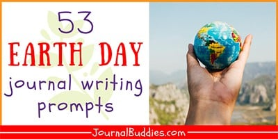 Journal Ideas for Earth Day