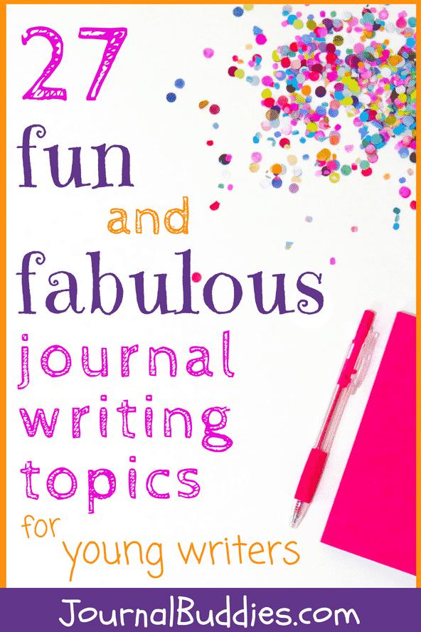 fun ideas to write about