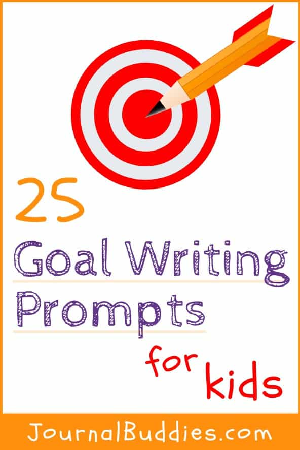 Goal Writing Journal Ideas for Kids