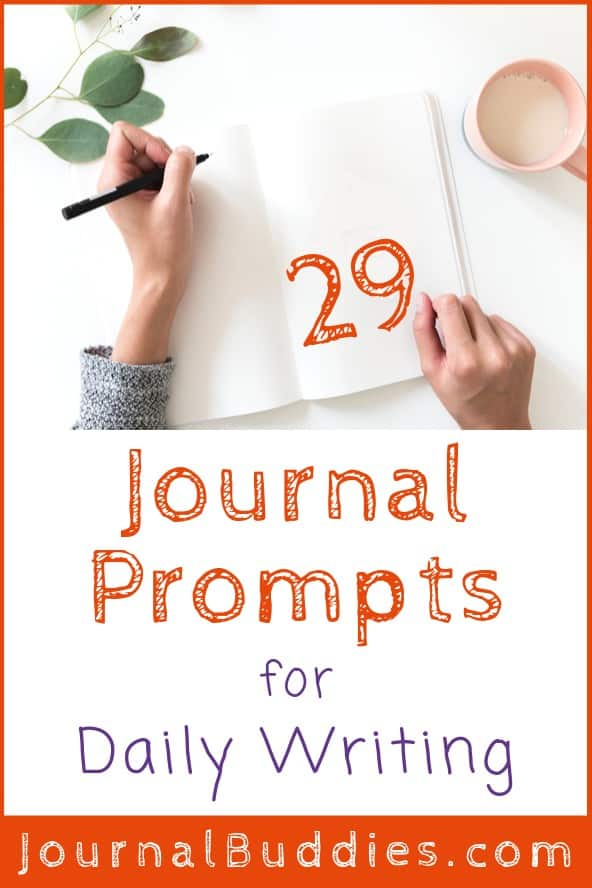 Journal Ideas for Daily Writing