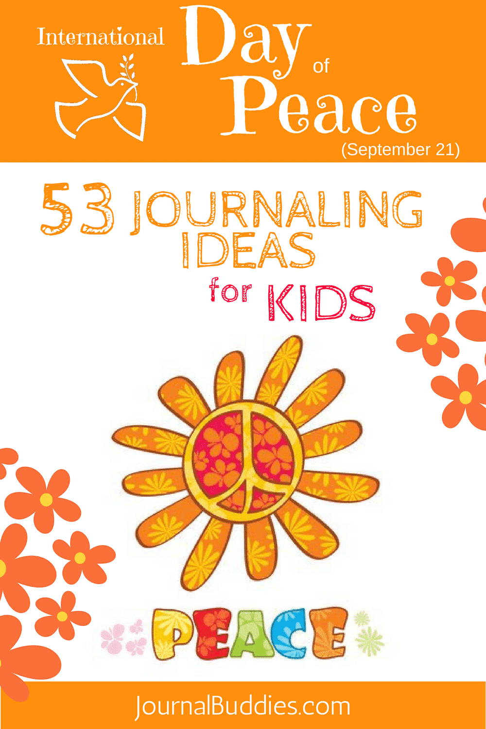Encourage your students to develop their opinions and work for their beliefs with these Peace Day journal prompts and writing prompt ideas. They'll be inspired by the opportunity to think about how they can make a difference in the world.