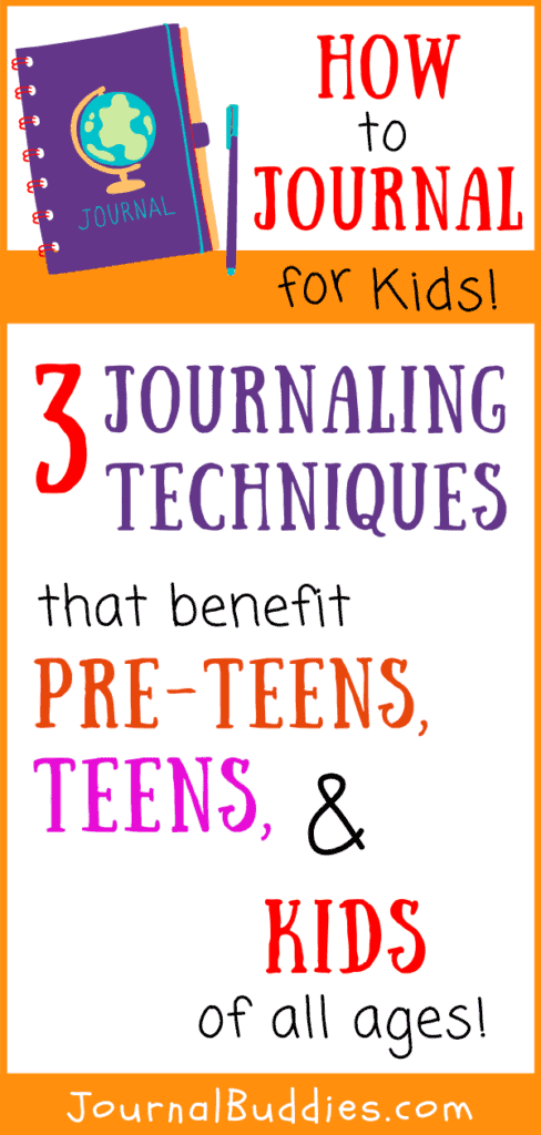 Journaling Techniques for Kids
