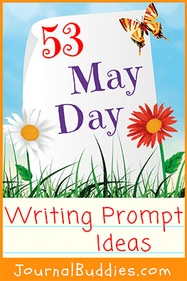 May Day is a traditional holiday that celebrates the arrival of spring with festivals, gifts, and celebration, and this holiday is a wonderful theme for some fun writing ideas and journal topics for kids.