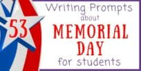 53 Memorial Day Writing Prompts