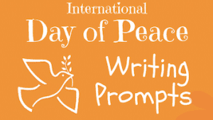 International Peace Day Writing Prompts for Kids