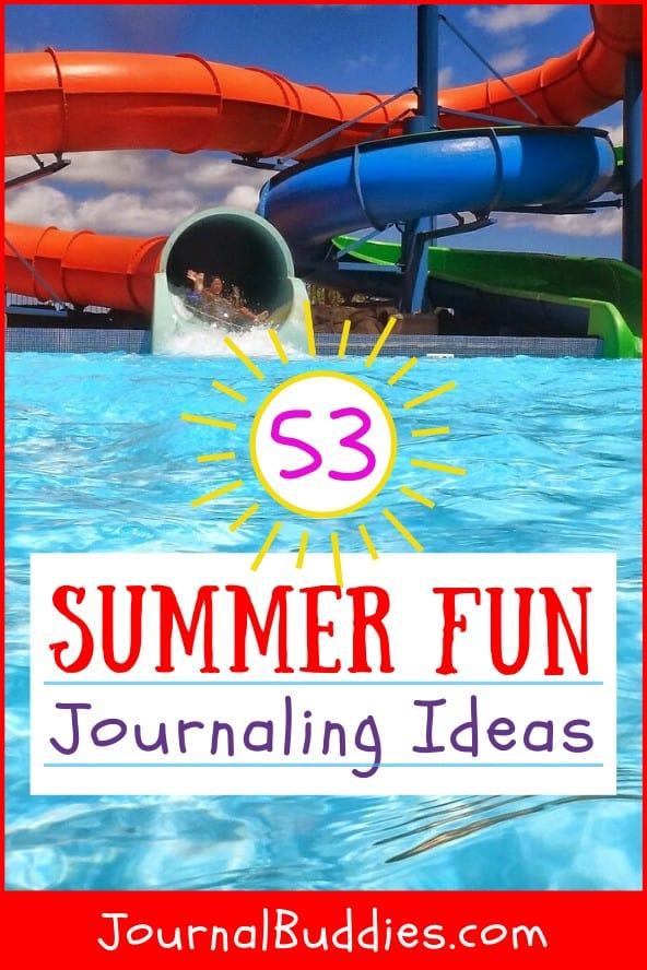 Summer Fun Journal Topics for Kids