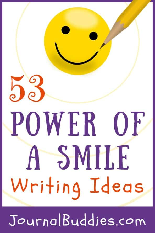 Power of a Smile Themed Writing Prompts