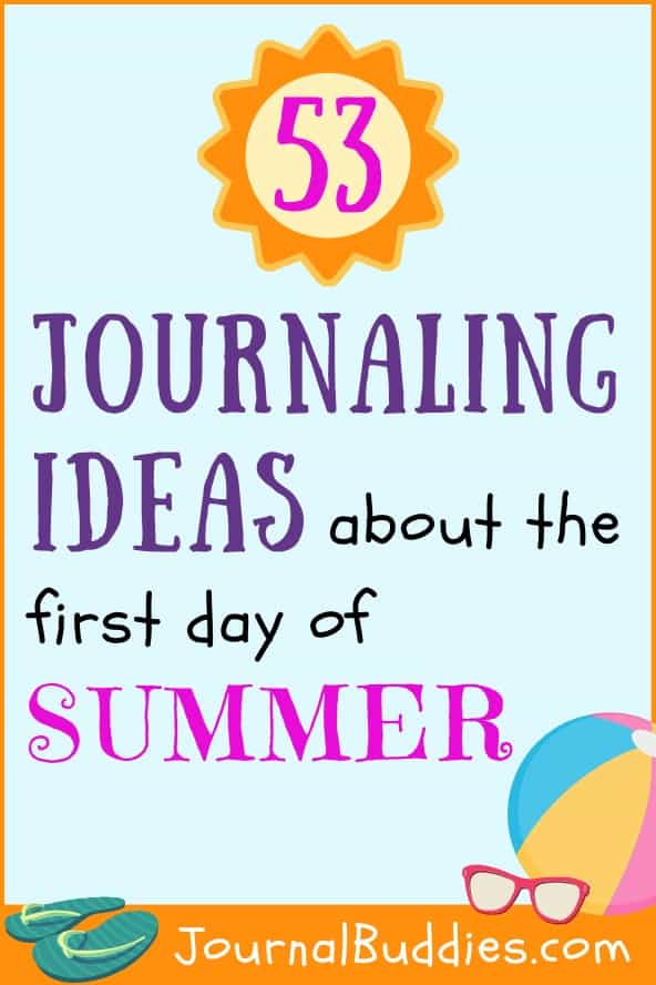 Journal Ideas to Write about the First Day of Summer