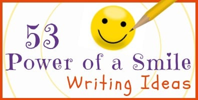 Power of a Smile Writing Ideas