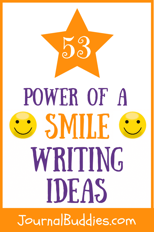 With these 53 new journal prompts, students can think about the power of a smile and what those smiles mean for the world. They'll consider their own feelings while giving and receiving smiles, in addition to what a smile really means. Students can also think about the universality of smiles and how a smile can have real results.