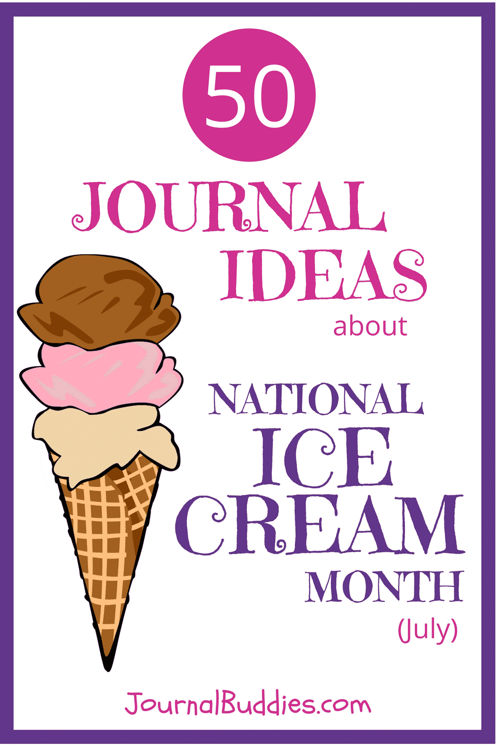 Get students ready for National Ice Cream Month this July with these creative questions. Their answers are likely to come in even more flavors than the local ice cream shop carries!