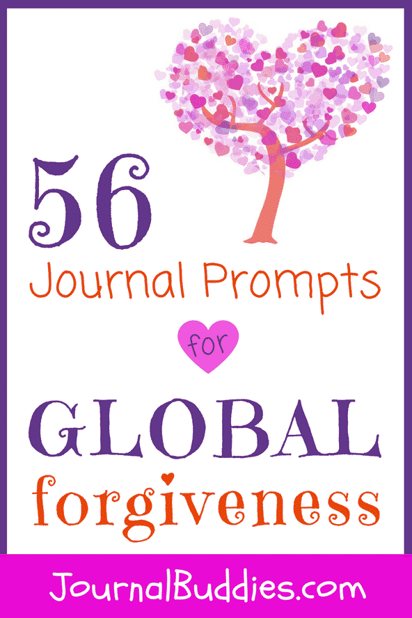 Journaling offers students a doorway into understanding a tough concept like forgiveness.